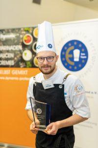 Julian Flesch gewann die Euro-Toques Challenge 2020