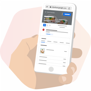Google Food Ordering mit SimplyDelivery