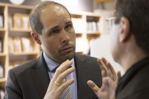 """Dr. Steffen Schwarz: """" Die Kaffeewelt freut sich auf den globalen Austausch beim ersten digitale CoffeeSymposium"""", so Dr. Steffen Schwarz von Coffee Consulate."""