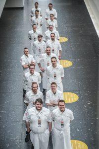 Das Teilnehmerfeld für Koch des Jahres 2021