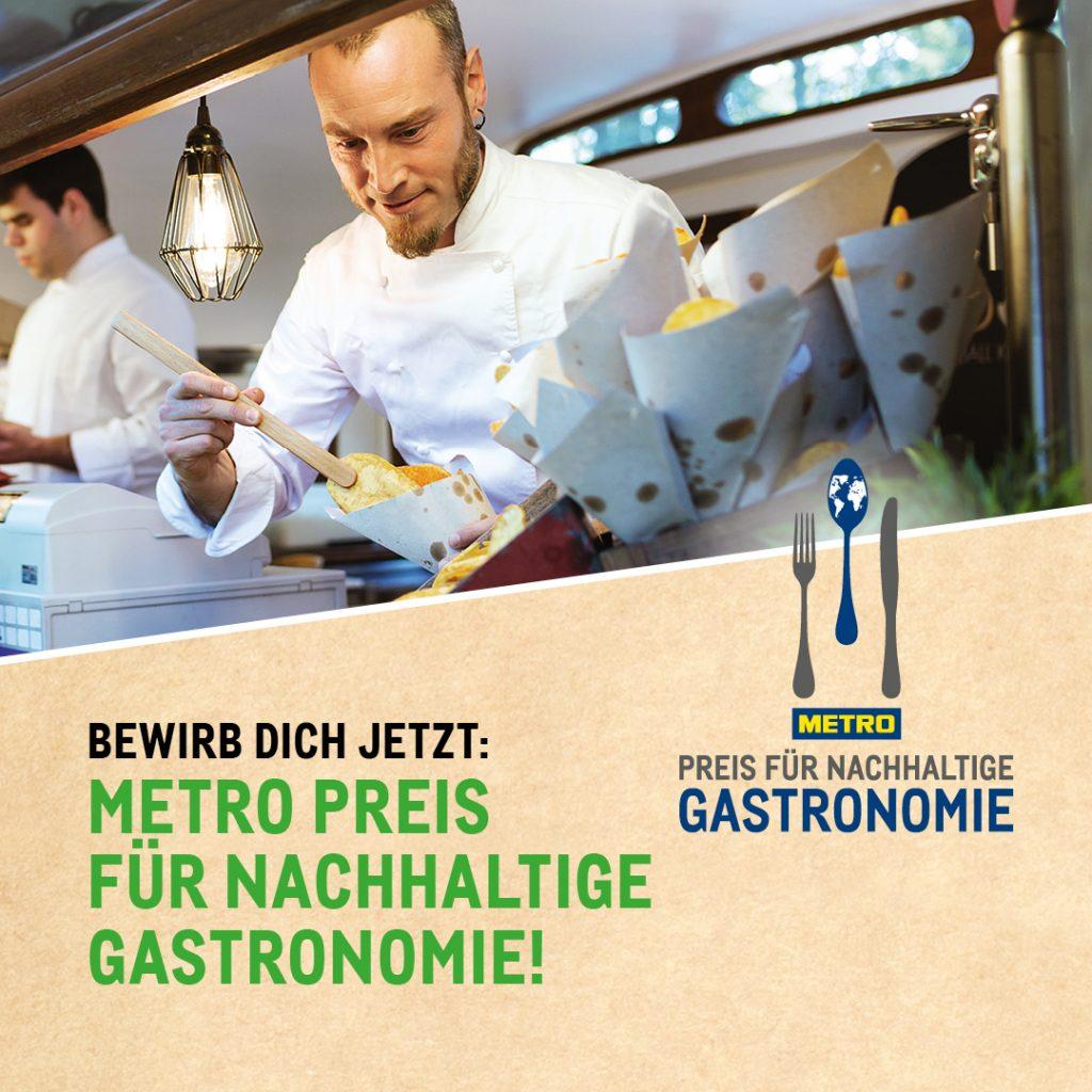 Der METRO Preis für nachhaltige Gastronomie ist Auszeichnung und Ansporn für zukunftsfähige Gastro-Konzepte
