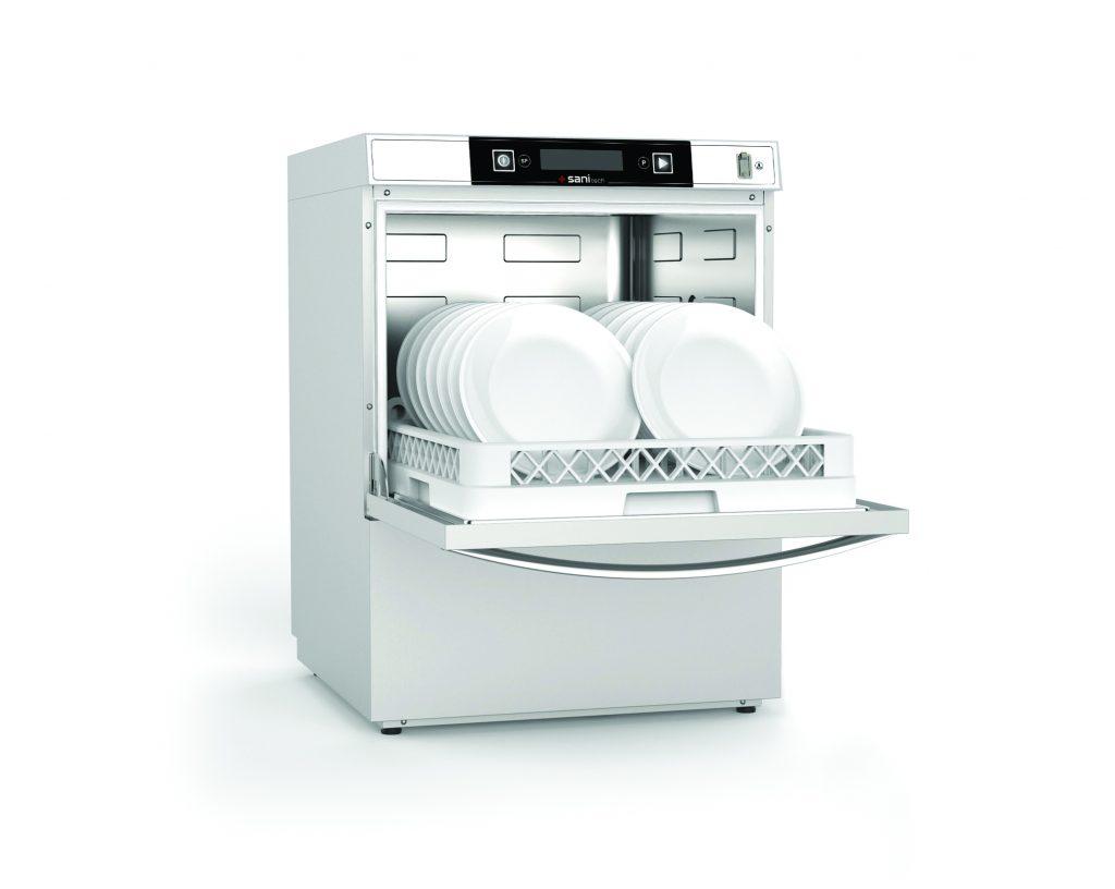 Neu im Portfolio sind die Spülmaschinen der Serie Colged SaniTech 36 und Colged SaniTech 38, die durch spezielle Programme mit Thermodesinfektion die Hygiene auf das höchste Level in der Geschirrspültechnik setzen.