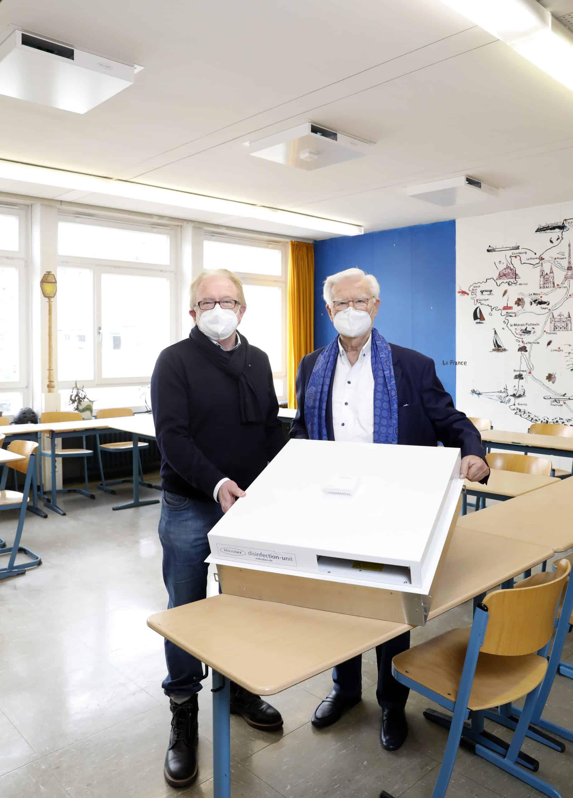 Mikrobex aus Hamburg für Lübeck