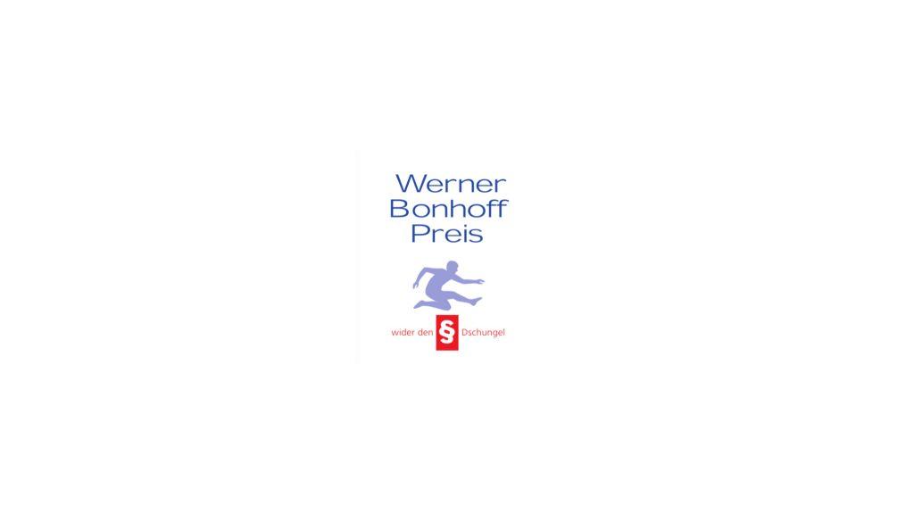 """Die Werner-Bonhoff-Stiftung vergibt in ihrem Projekt """"Bürokratie Therapie"""" seit 2006 den mit 50.000 Euro dotierten """"Werner-Bonhoff-Preis-wider-den-§§-Dschungel""""."""