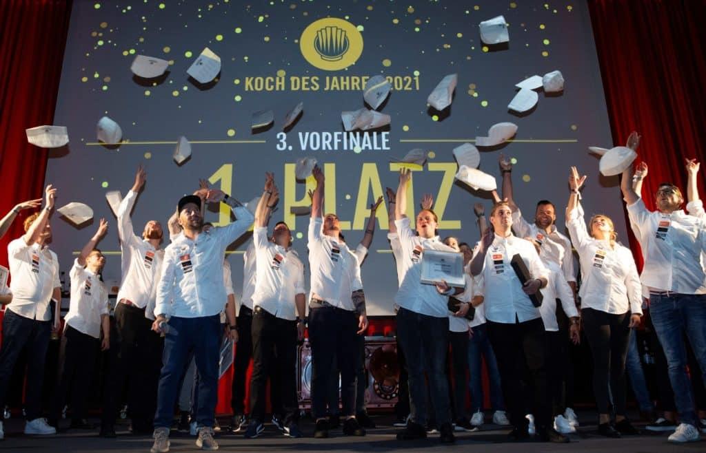 """Das große Finale des renommierten Live-Wettbewerbs """"Koch des Jahres"""" findet am 11. Oktober 2021 auf der Anuga in Köln (Halle 7, Culinary Stage) statt."""