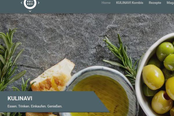 """KULINAVI ist ein Führer durch den Food-Dschungel und bringt alles rund um die Themen Essen, Trinken, Einkaufen und Genießen in kuratierten redaktionellen """"Kombis"""" in kompakte und interessante Zusammenhänge."""